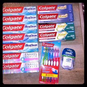 Huge Colgate Toothpaste & Toothbrush Bundle